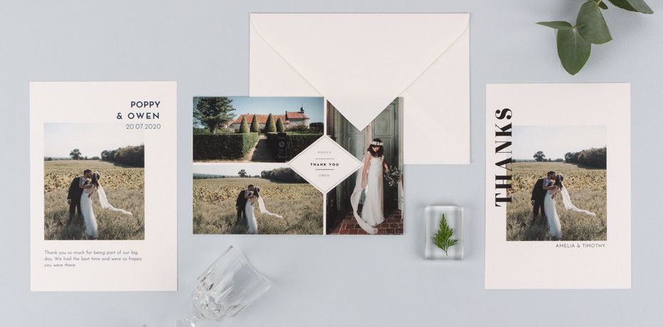 Wedding thank you card etiquette guide