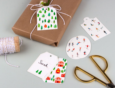 Christmas gift tags from Rosemood