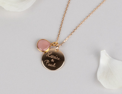 Personalised jewellery for Mother's Day